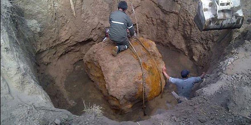 30 ton ağırlığında bir meteor bulundu