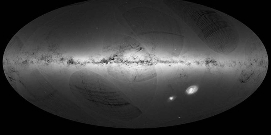 Samanyolu'nda 1 milyar yıldızın haritası çıkarıldı