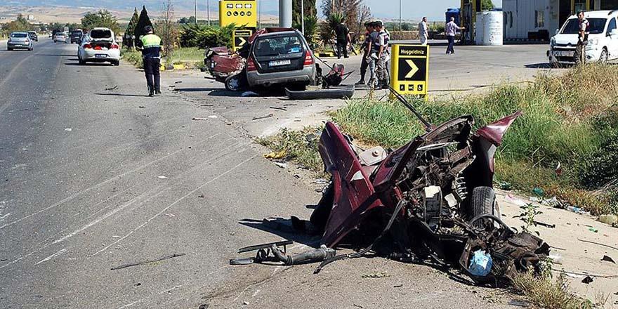 Bayram tatilinde trafik kazalarının acı bilançosu