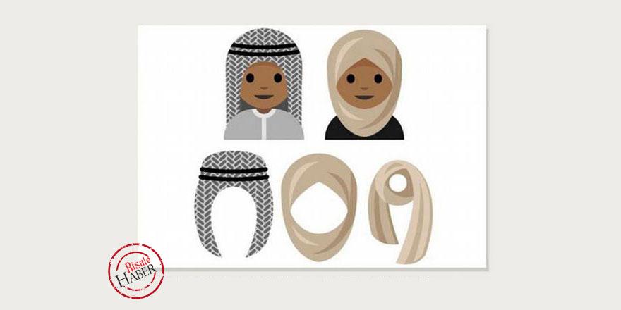 Suudi öğrenciden başörtülü emoji teklifi