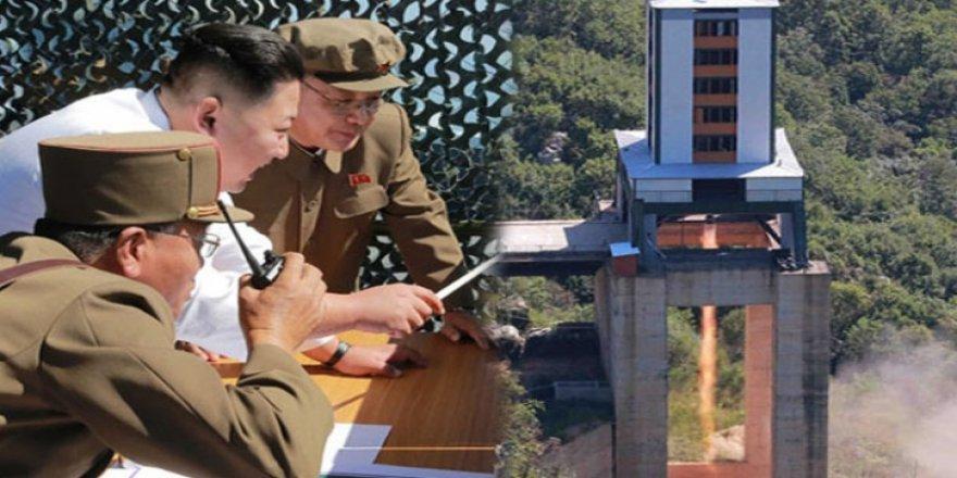Kuzey Kore yeni füze denedi
