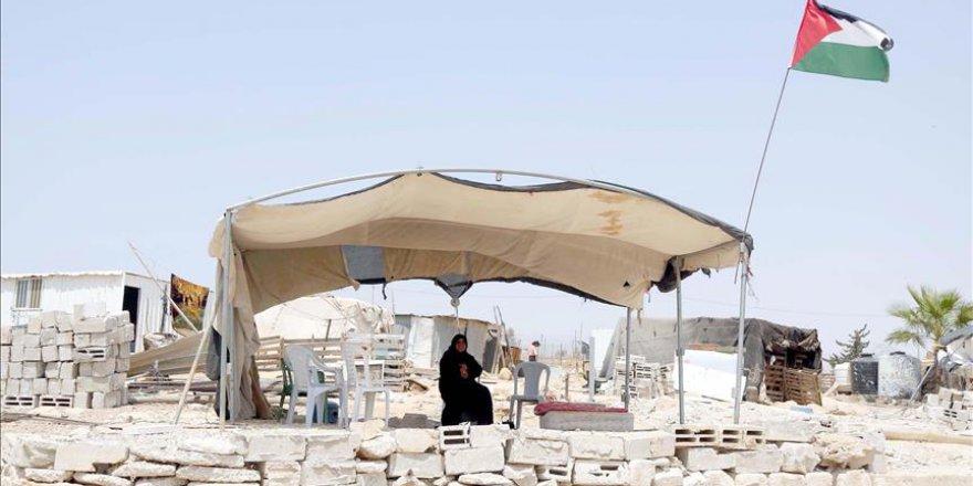 Evleri yıkılan Filistinliler İsrail'e böyle tepki gösterdi