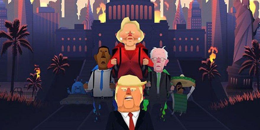 Donald Trump mobil oyunda