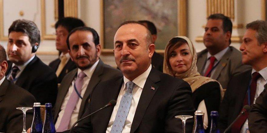 Çavuşoğlu: FETÖ uluslararası bir terörist örgüttür
