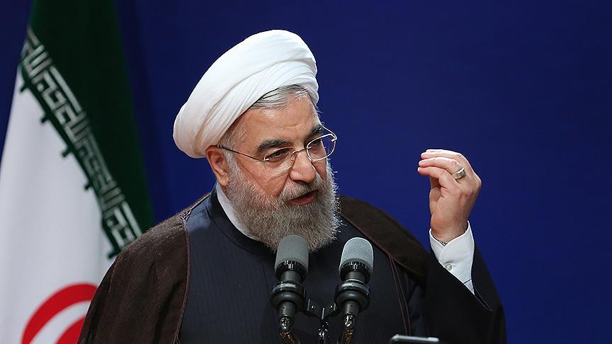 Ruhani: ABD, İran'a ilaç ve yiyecek sektöründe dahi yaptırım uyguluyor