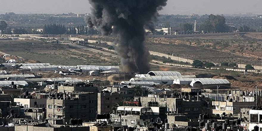 Darbeciler Gazze'ye havan topu attı!