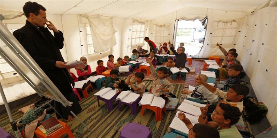 Savaş şartlarında eğitim seferberliği
