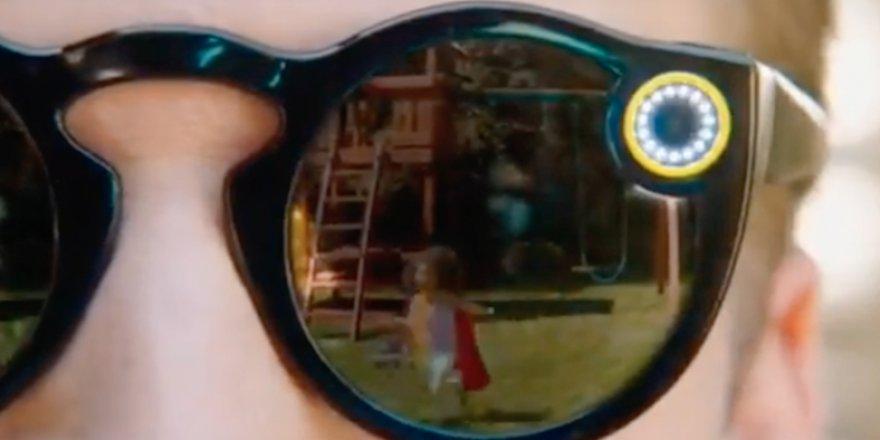 Snapchat'in Kameralı Güneş Gözlüğü: Spectacles