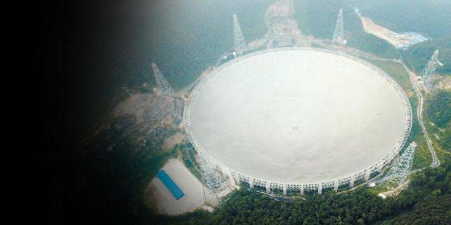 Dünyanın en büyük radyo teleskopu faaliyete geçti