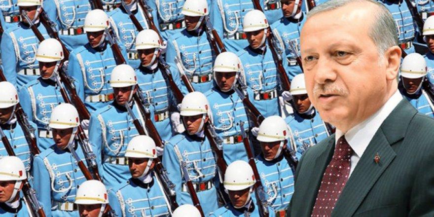 Erdoğan'ı TBMM'ye gelişinde Genelkurmay'ın özel olarak seçtiği 160 asker karşılayacak
