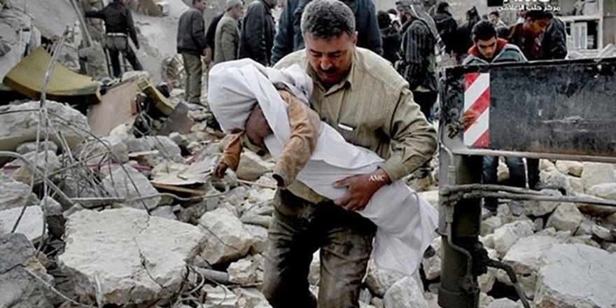 Rusya, Halep'te yeni bomba kullanıyor: 444 ölüm