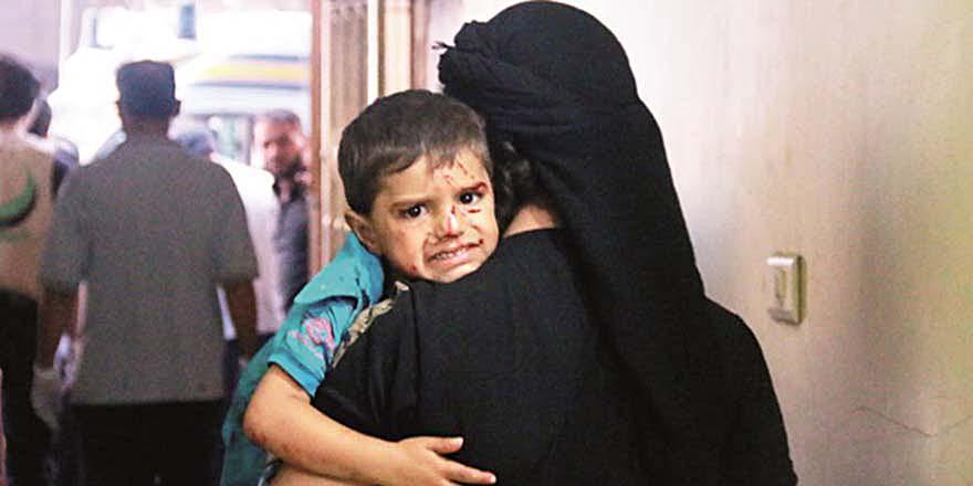 Rusya ve Esed'e göre bu çocuklar terörist!
