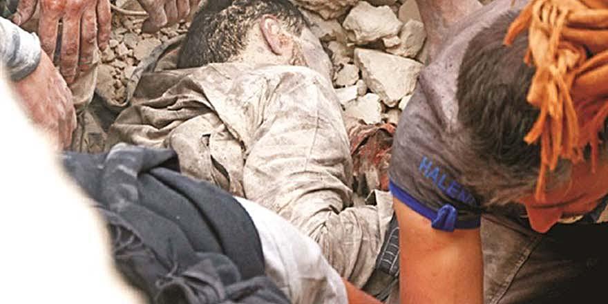 Halep'te Esed ve iş birlikçilerinin yaptığı katliam ve 'savaş suçu'