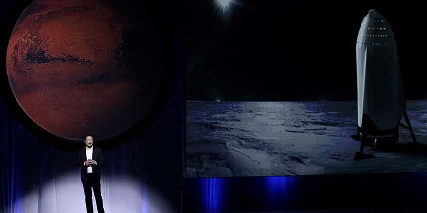 Amerikalı iş adamı Dünya'dan Mars'a kaçış planını açıkladı