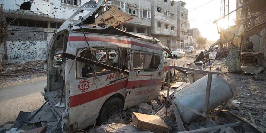 Doğu Halep'teki son iki hastane de bombalandı