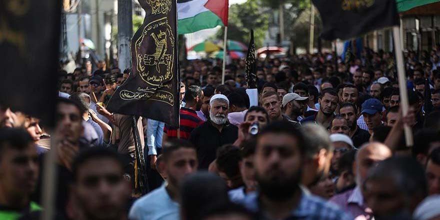 Filistin ayaklanmasının birinci yılı Gazze'de anıldı