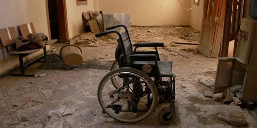 Rusya ve Esed en büyük hastaneyi vurdu