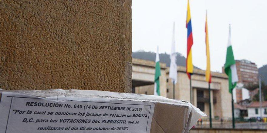 Kolombiyalılar tarihi referandumda 'hayır' dedi