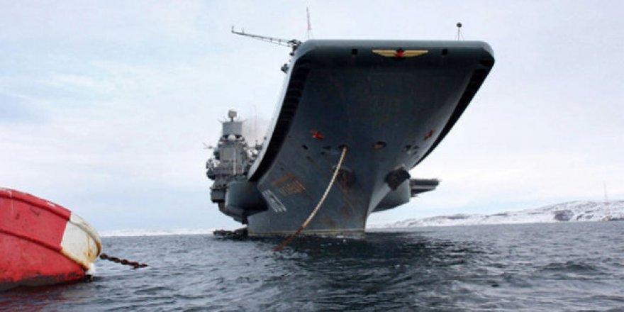 Rusya'nın en büyük uçak gemisi Akdeniz'e geliyor!