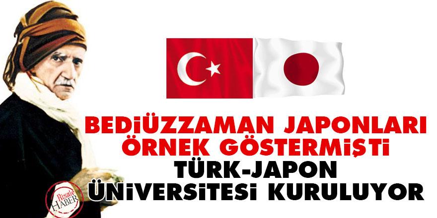 Bediüzzaman Japonları örnek göstermişti: Türk-Japon Üniversitesi kuruluyor