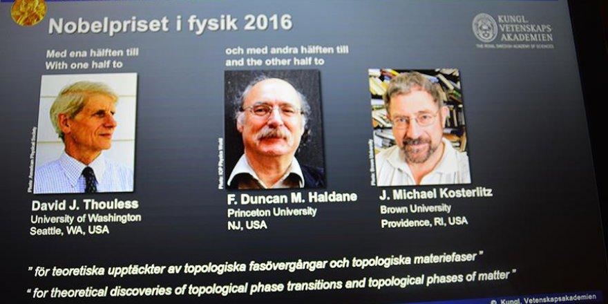 Nobel Fizik Ödülü paylaşıldı