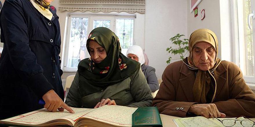 6-7 Ekim'de yakılan Kur'an kursuna halk sahip çıktı
