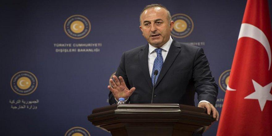 Bakan Çavuşoğlu: 'Vize muafiyeti hakkımız'