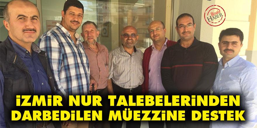 İzmir Nur talebelerinden darp edilen müezzine destek