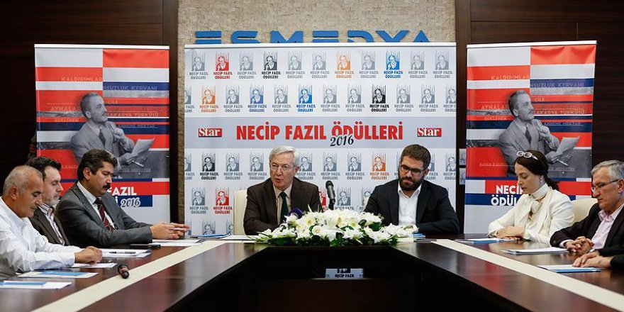 'Star Gazetesi 2016 Necip Fazıl Ödülleri' verildi