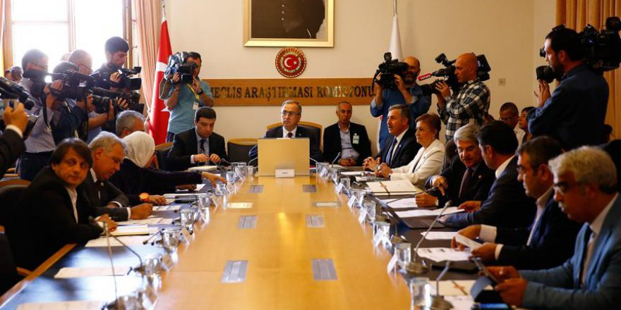 Darbe girişimini araştırma komisyonu toplandı