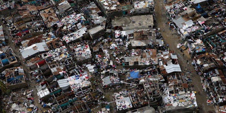 Kanada'dan Haiti'ye yardım
