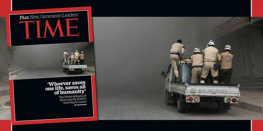 Time dergisinin kapağında yer alan ayet