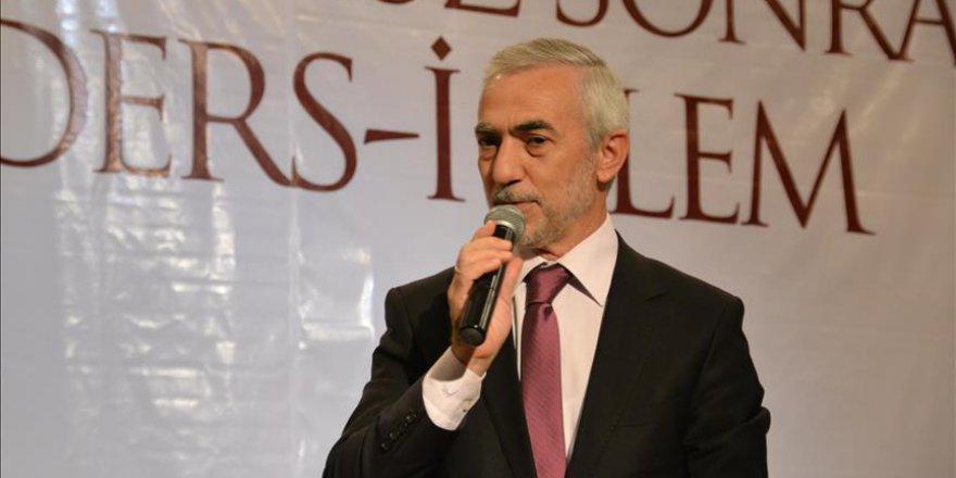 'Tüm mazlum ve Müslümanların umudu Türkiye'