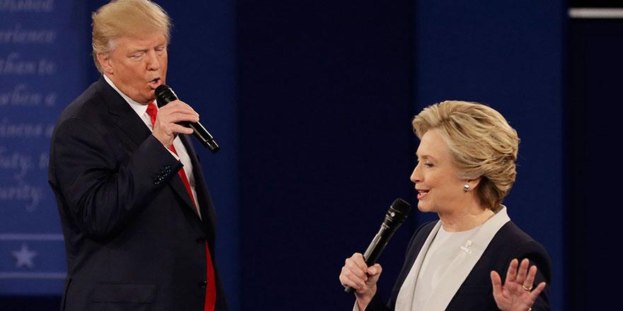 ABD Seçimlerinde kim önde? Trump mı kazanıyor Clinton mu?