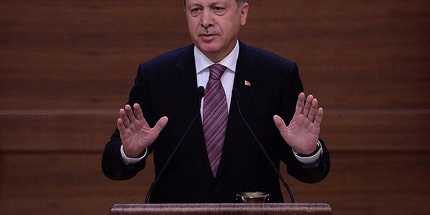 Erdoğan'dan '#BarışİçinPaylaş' mesajı
