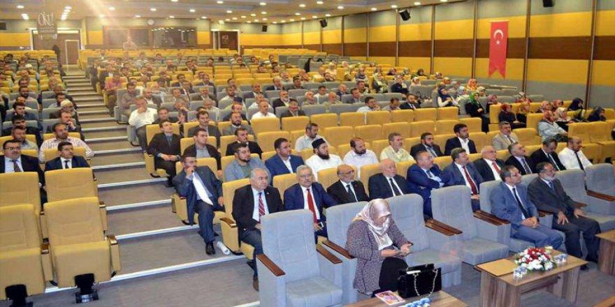 Kırıkkale'de din görevlilerine konferans
