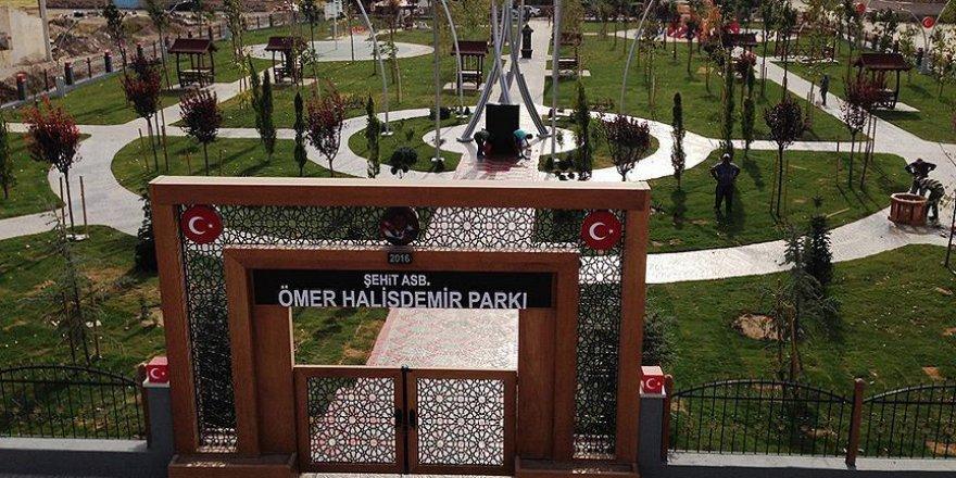 Ömer Halisdemir ismi o ildeki parkta da yaşayacak