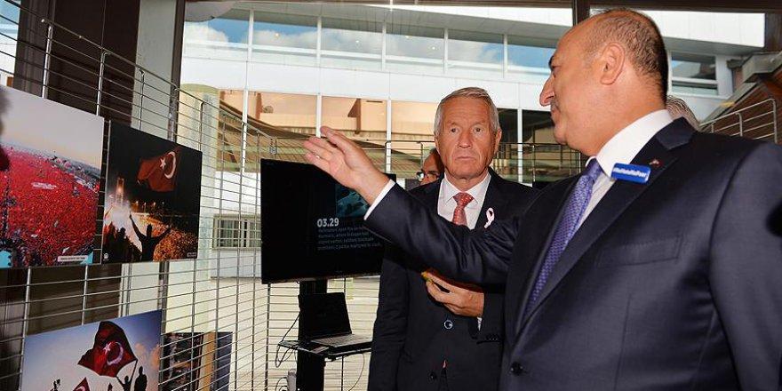 15 Temmuz fotoğraf sergisi Avrupa Konseyi'nde
