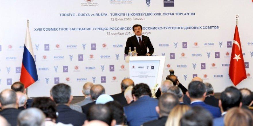 Zeybekci: Türkiye ile Rusya'nın biraraya gelmesi...