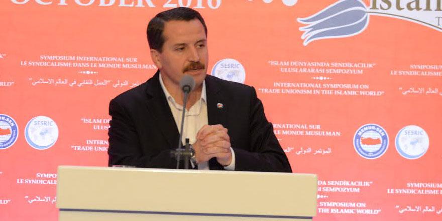 Memur-Sen Başkanı Ali Yalçın: Daha adil bir dünya için birlik olalım