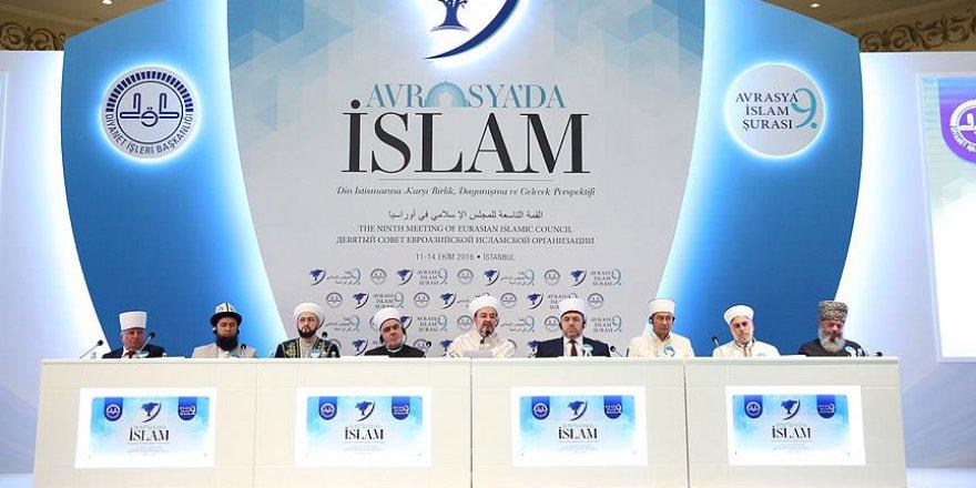 9. Avrasya İslam Şurası bildirisi: FETÖ Dini Cemaat Değildir