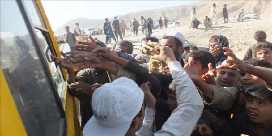 Afganistan için acil insani yardım mesajı