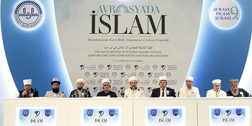 '9. Avrasya İslam Şurası' sonuç bildirgesi