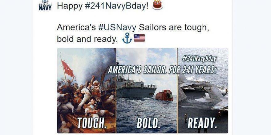 ABD Donanması skandal paylaşımını kaldırdı