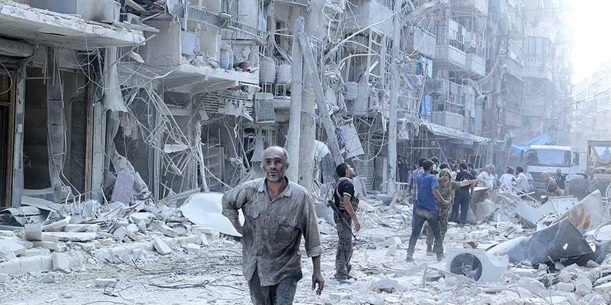 Rusya, Halep'te katliama ara vermiyor: 8'i çocuk 16 ölü