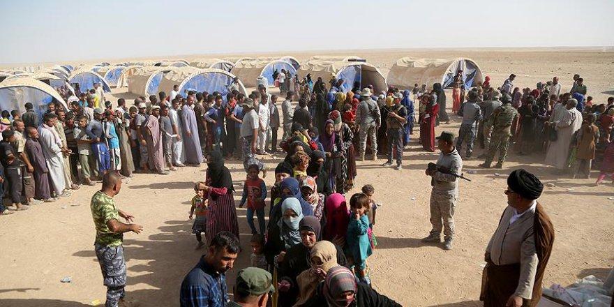 Musul'dan göç edebilecek aileler için 50 bin çadır hazırlandı