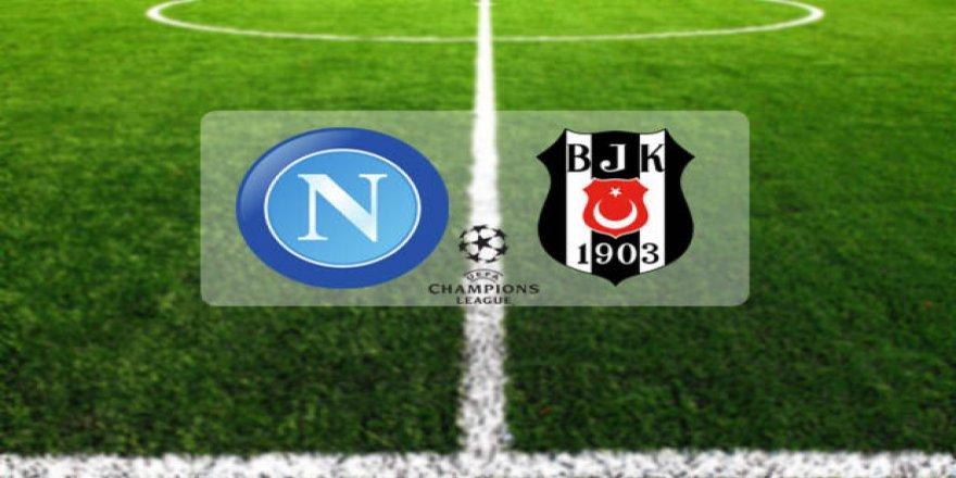 Napoli-Beşiktaş maçı saat kaçta? Hangi kanalda? Maç Şifreli mi?