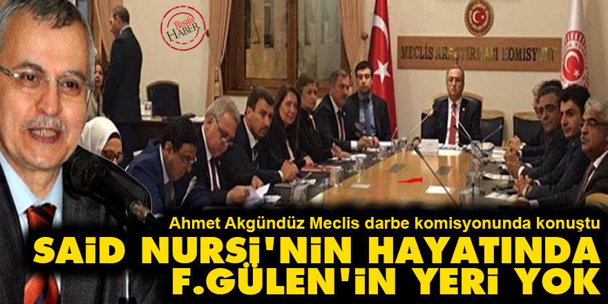 Said Nursi'nin hayatında F.Gülen'in yeri yok