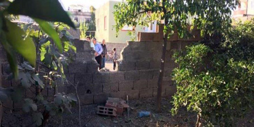 Osmaniye'ye 3 havan mermisi atıldı