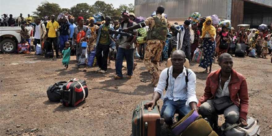 Afrika'da sığınmacı sayısı 12 milyona ulaştı